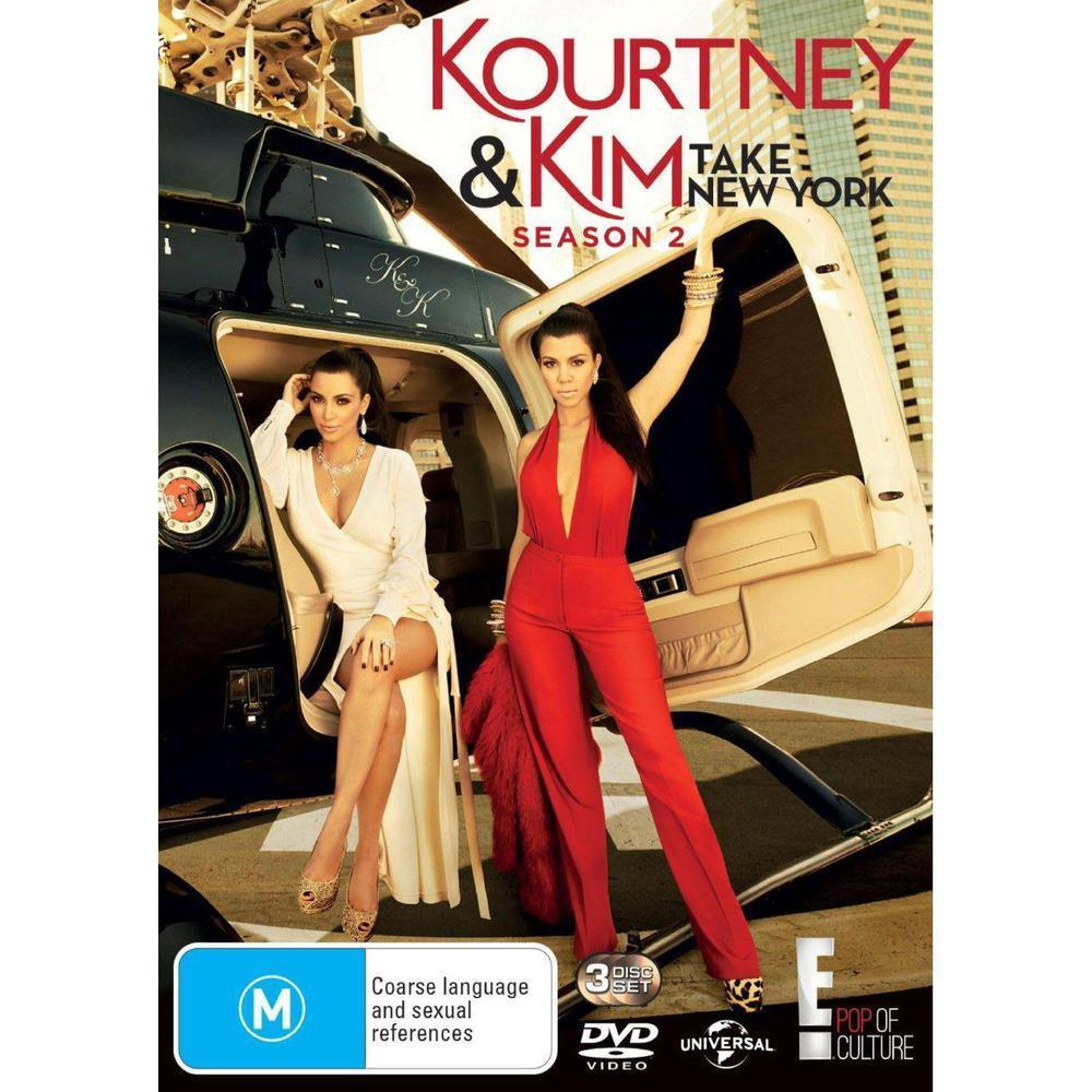 Kourtney and Kim Take New York: Season 2 (3 Discs) DVD