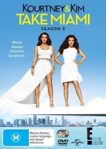 Kourtney and Kim Take Miami: Season 3 DVD