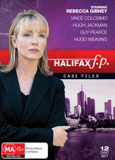 Halifax FP Case Files #1-4 DVD Boxset