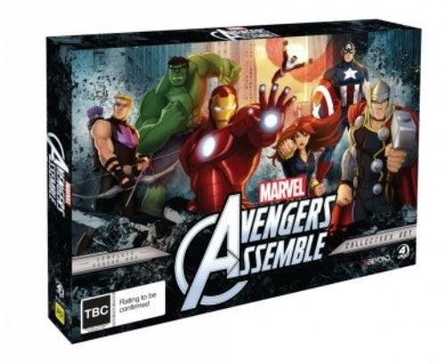 Marvel Avengers Assemble - Complete Season 1 (Collectors Set) DVD [UK Compatible] New