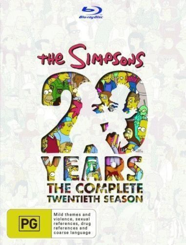 The Simpsons:  Season 20 (20 Years) BLR