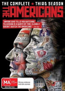 The Americans: Season 3 DVD
