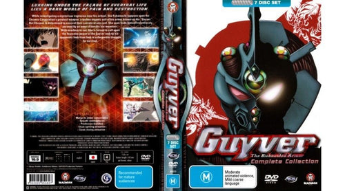 Guyver: The Bioboosted Armor - Complete Collection (7 Discs)