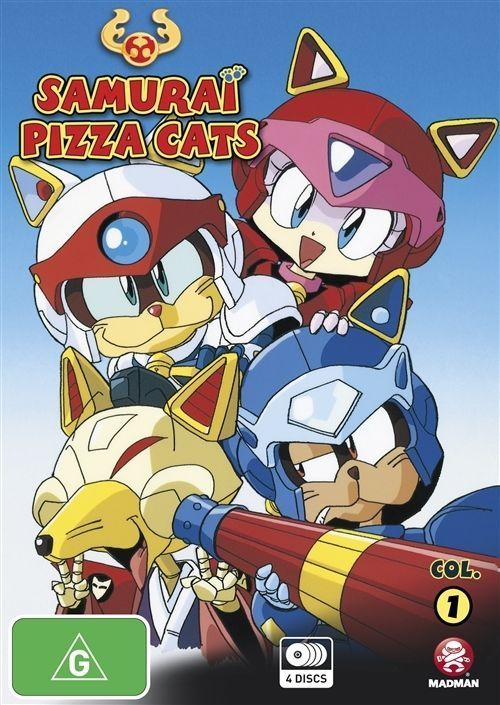 Samurai Pizza Cats - Collection 1 (Episodes 1 - 26)