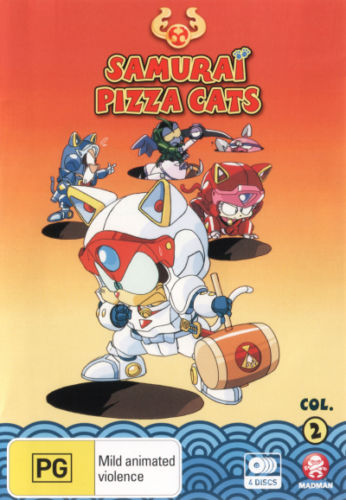 Samurai Pizza Cats: Collection 2 (Eps 27-52)