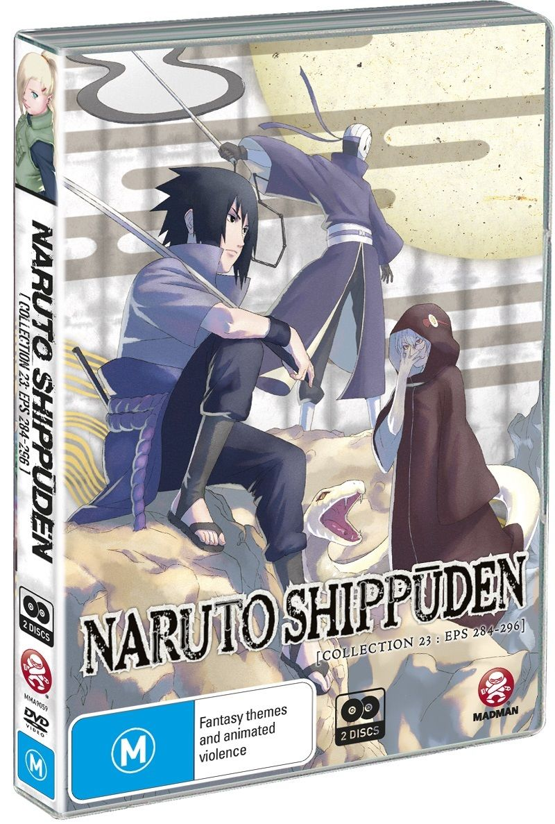 Naruto Shippuden: Collection 23 (Eps 284-296)