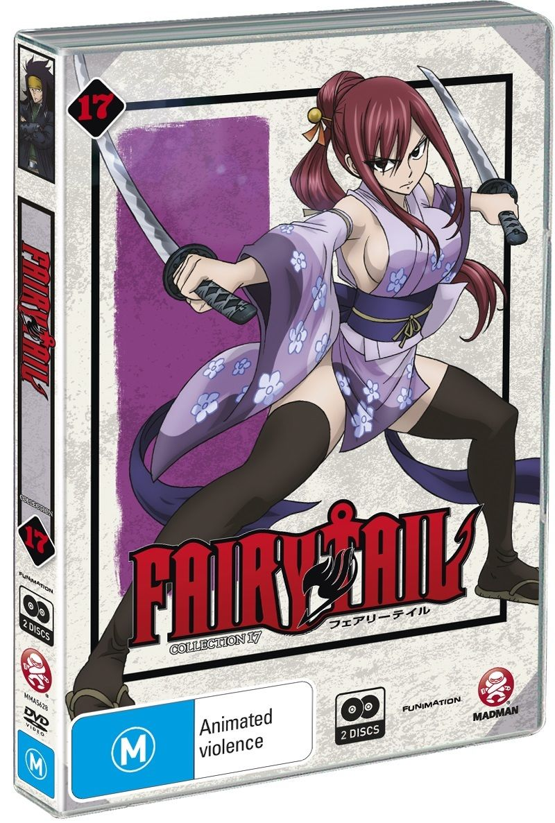 Fairy Tail - Collection 17 (Eps 188-199)