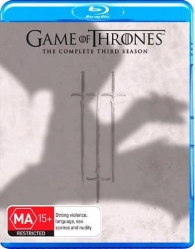 Game of Thrones - Season 3 Blu-Ray