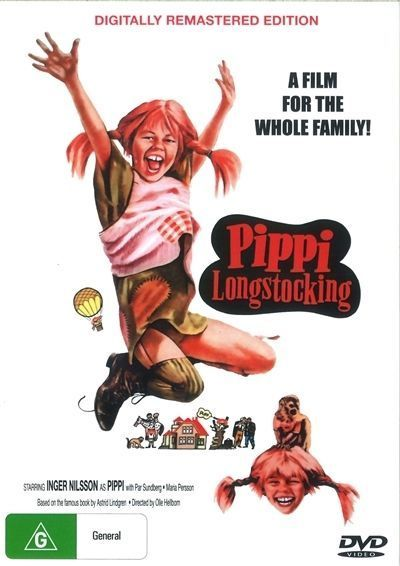 Pippi Longstocking - DVD