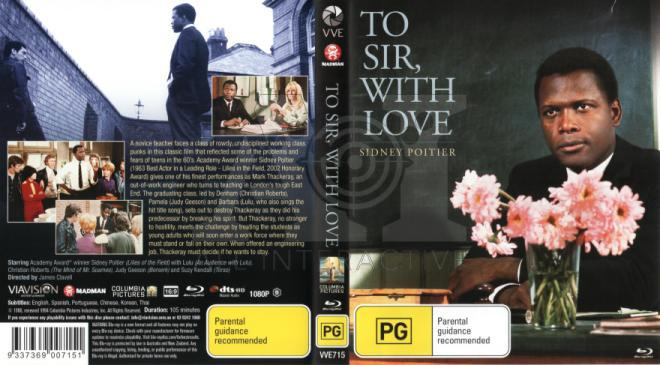 To Sir, With Love Blu-Ray