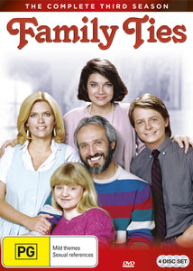 Family Ties: Season 3 DVD