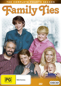 Family Ties: Season 4 DVD