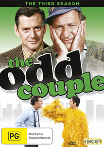 The Odd Couple: Season 3 DVD