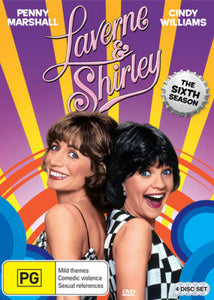 Laverne & Shirley: Season 6 DVD