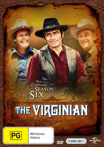 The Virginian: Season 6 DVD