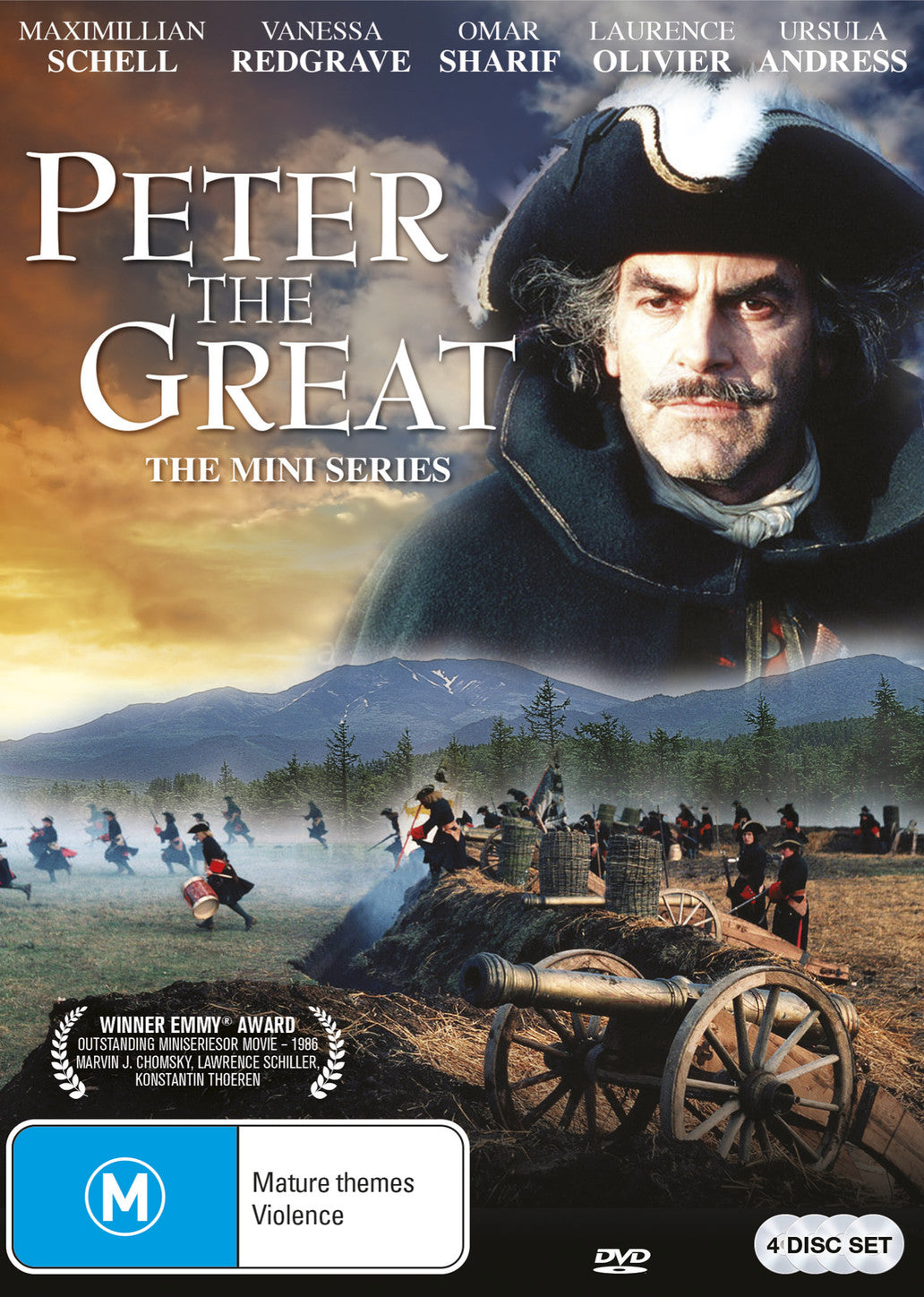 Peter the Great: The Mini Series DVD