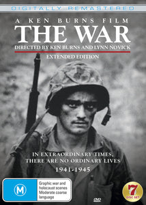 The War - A Film by Ken Burns [DVD] Remastered / Extended Edition