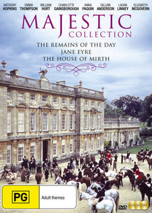 Remains of the Day / Jane Eyre / The House of Mirth DVD