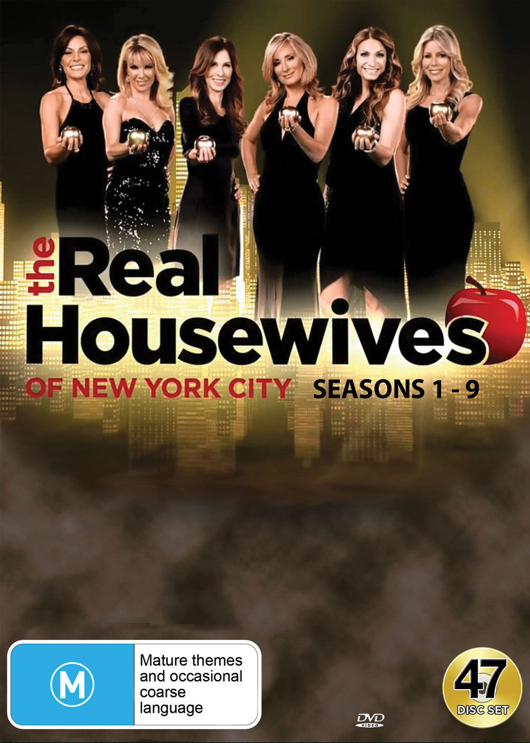 The Real Housewives of New York City (Seasons 1 - 9) DVD