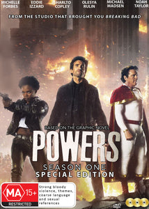 Powers - Season 1 DVD