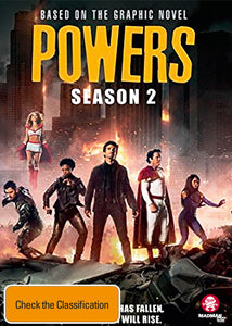 Powers - Season 2 DVD