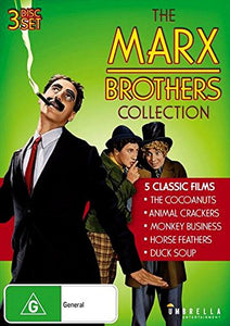 The Marx Brothers Collection (The Cocoanuts / Animal Crackers / Monkey Business / Horse Feathers / Duck Soup)