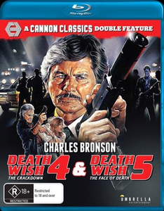 Death Wish 4: The Crackdown / Death Wish 5: The Face of Death Blu-Ray