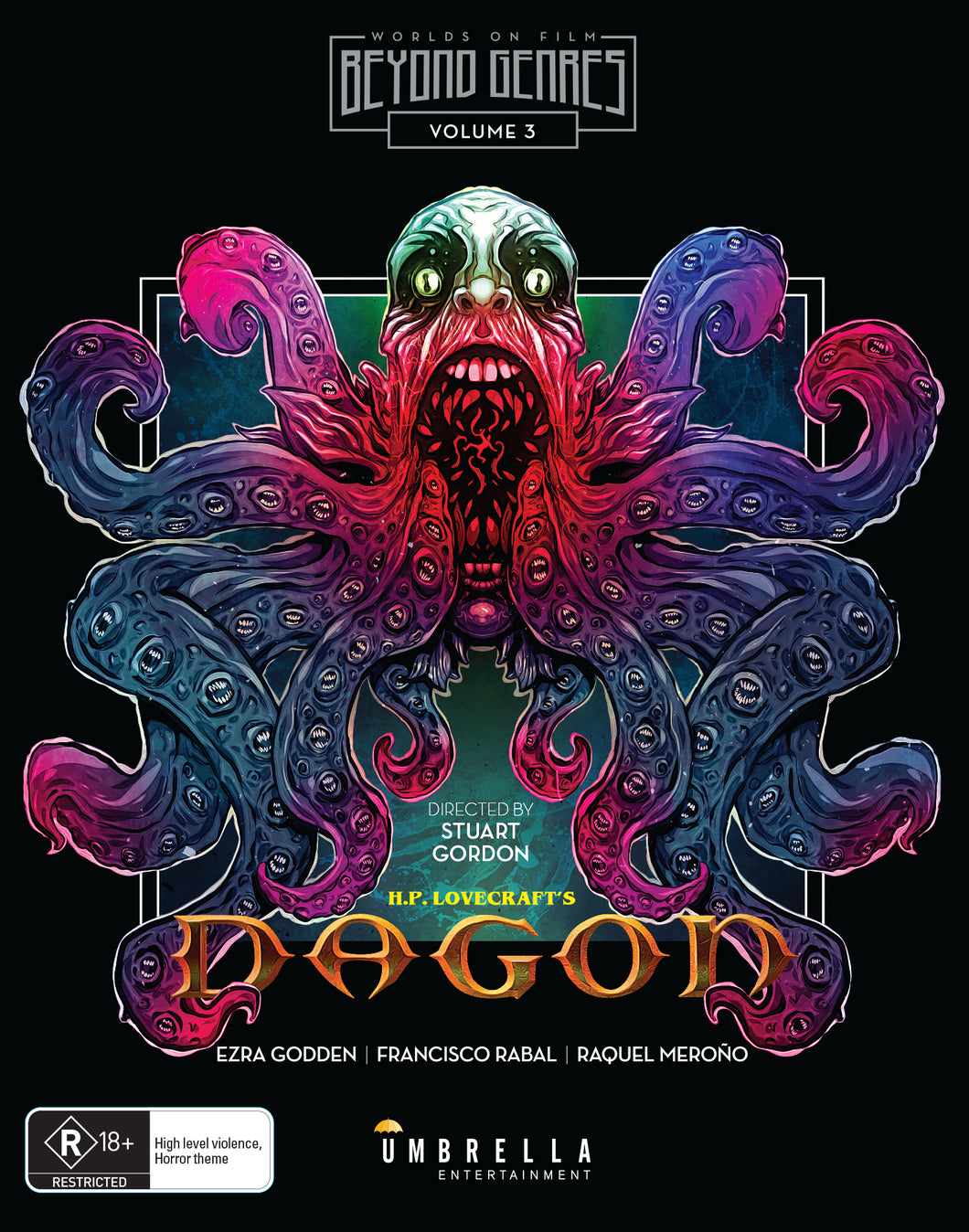 Dagon (H.P. Lovecraft) Blu-Ray (Beyond Genres Vol. 3)