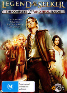 Legend Of The Seeker - Season 2 DVD