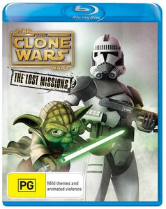 Star Wars The Clone Wars: The Lost Missions - Season 6 Blu-Ray