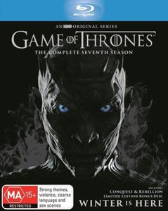 Game of Thrones - Season 7 Blu-Ray Inc Bonus Disc (Limited Edition)