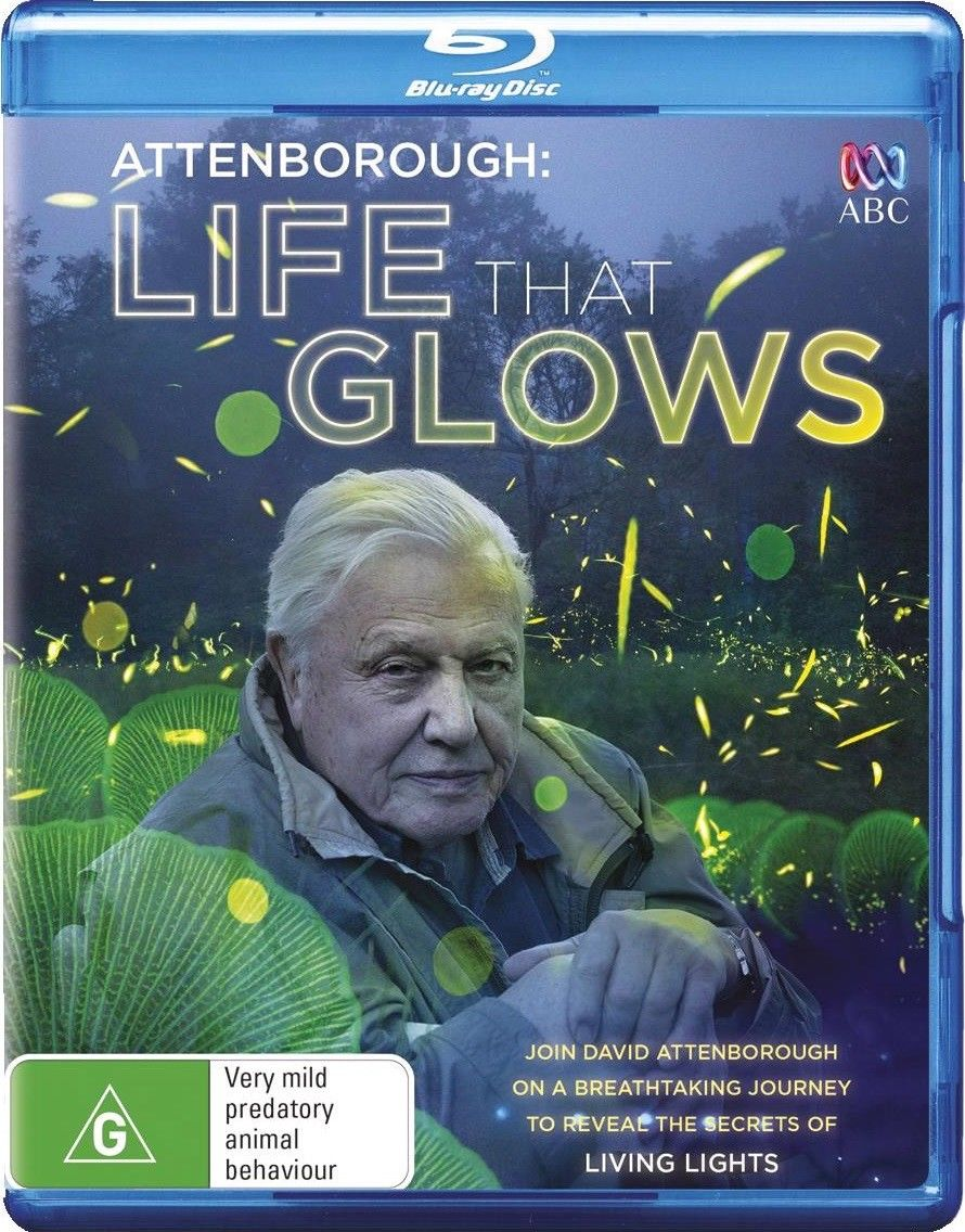 David Attenborough: Life That Glows Blu-Ray