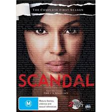 Scandal: Season 1 DVD