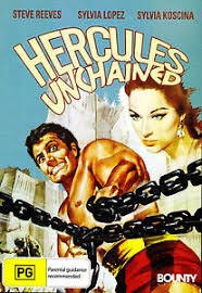 Hercules Unchained DVD