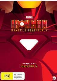 Iron Man Armored Adventures Complete Season 2