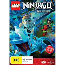 Lego Ninjago: Masters of Spinjitzu: Season 4 - Volume2  DVD