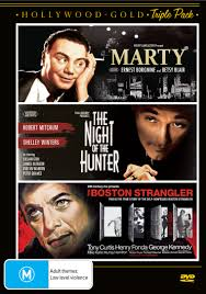 Hollywood Gold / Marty + The Night of the Hunter + The Boston Strangler