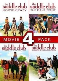 The Saddle Club 4 Movie Pack