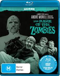 PLAGUE OF THE ZOMBIES BLU RAY