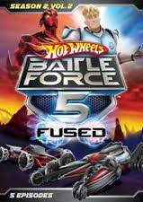 Hot Wheels Battle Force 5 Fused Season 2 Volume 2