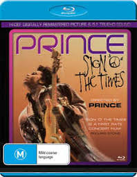 Prince Sign o the Times Blu Ray