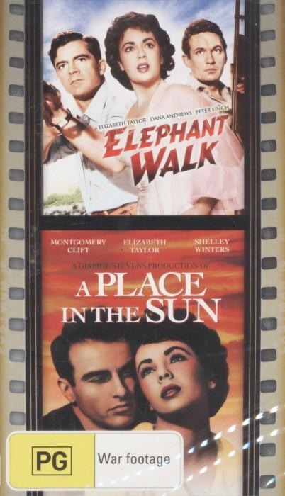 Elephant Walk / A Place in the Sun DVD