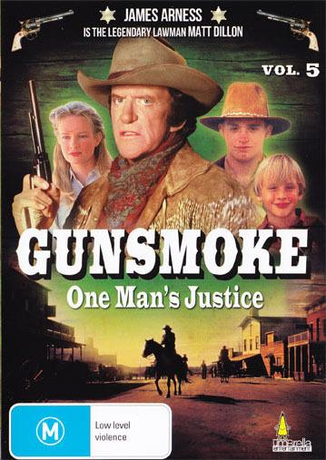 Gun smoke One Man's Justice DVD Volume 5