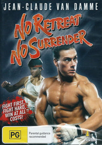 No Retreat, No Surrender (1986) DVD