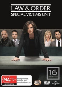 Law and Order: Special Victims Unit: Season 16 DVD