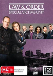 Law and Order: Special Victims Unit - Season 12 DVD