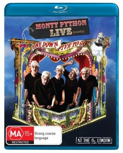 MONTY PYTHON LIVE 1 DOWN 5 TO GO BLU RAY