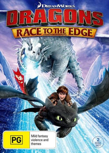 Dreamworks Dragons Race to the Edge Season 1 DVD
