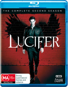 Lucifer Season 2 Blu-Ray