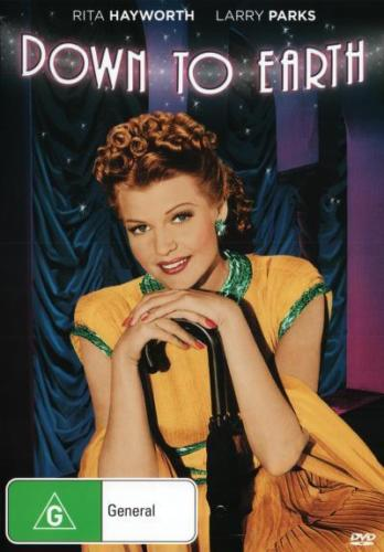 Rita Hayworth: Down to Earth DVD